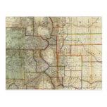 El nuevo mapa de Thayer del estado de Colorado Postal
