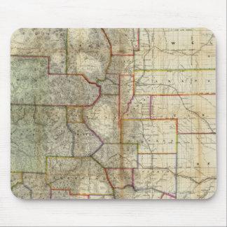 El nuevo mapa de Thayer del estado de Colorado Tapetes De Raton