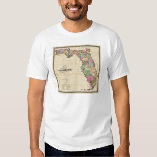 El nuevo mapa Drew's del estado de la Florida Camisas
