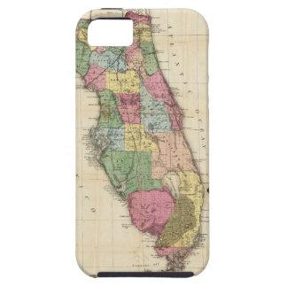 El nuevo mapa Drew's del estado de la Florida Funda Para iPhone 5 Tough