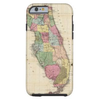 El nuevo mapa Drew's del estado de la Florida Funda Para iPhone 6 Tough