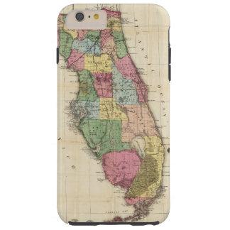 El nuevo mapa Drew's del estado de la Florida Funda Resistente iPhone 6 Plus