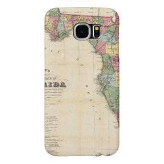 El nuevo mapa Drew's del estado de la Florida Funda Samsung Galaxy S6