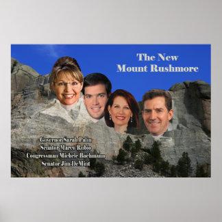 El nuevo monte Rushmore Póster