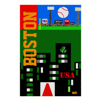 El nuevo poster 2013 del arte de Boston embroma el