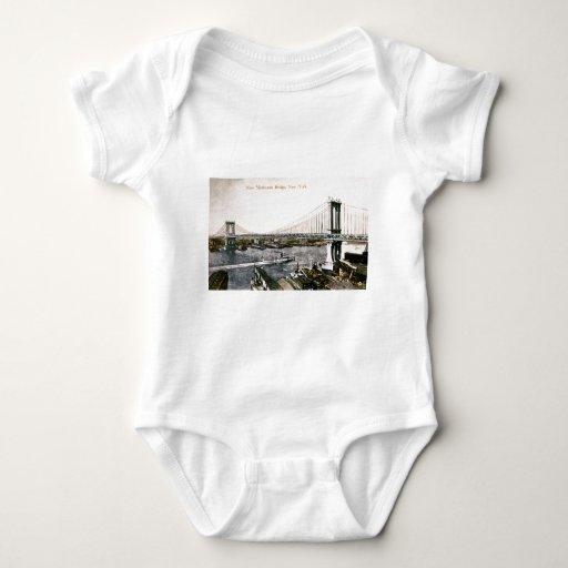 El nuevo puente CA 1909-10 de Manhattan Camisetas