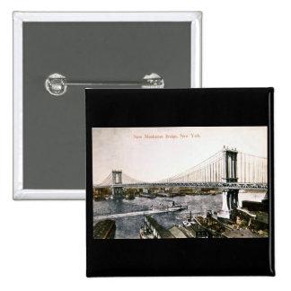 El nuevo puente CA 1909-10 de Manhattan Pin