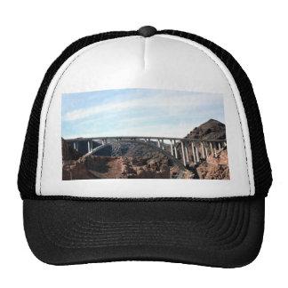 El nuevo puente de puente del Preso Hoover Gorros Bordados