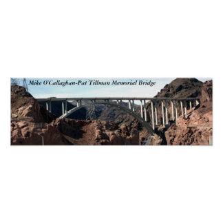 El nuevo puente de puente del Preso Hoover Póster