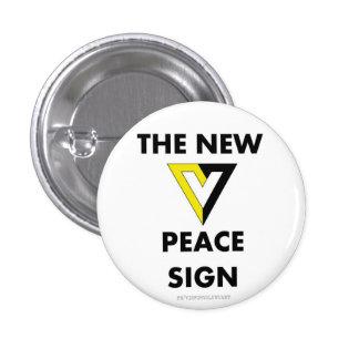 El nuevo signo de la paz pin