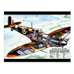 El nuevo Spitfire de Gran Bretaña Tarjeta Postal
