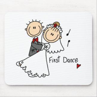 El nuevos marido y esposa primero bailan Mousepad