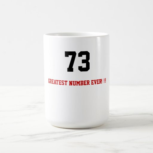 ¡El número más grande de la taza de café del friki