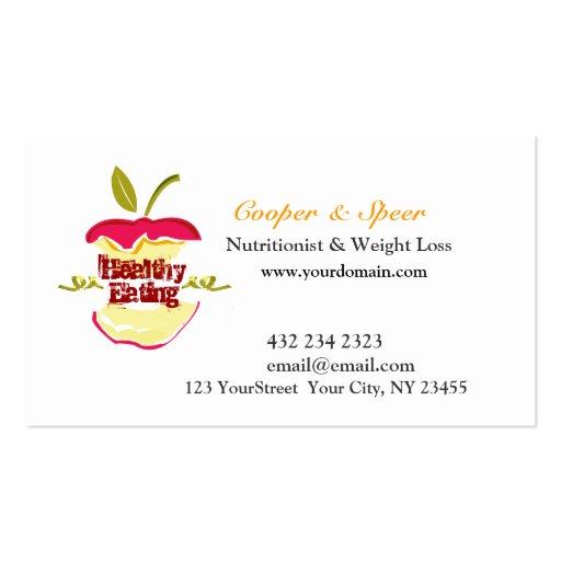 El nutricionista Apple el dietético diseña negocio