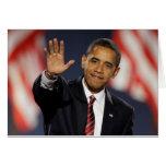 El Obama-Agitar Felicitaciones