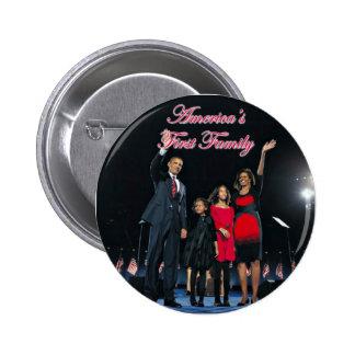 El Obamas: 1r botón de la familia de América Pin