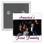 El Obamas: 1r botón de la familia de América Pins