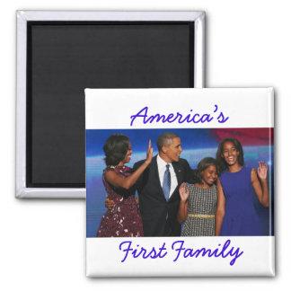 El Obamas: 1r imán de la familia de América