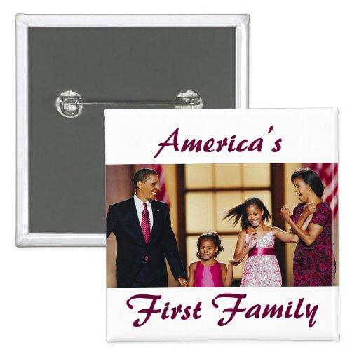 El Obamas: La 1ra familia de América Pins