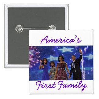 El Obamas La 1ra familia de América Pins