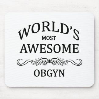El OBGYN más impresionante del mundo Alfombrillas De Ratón