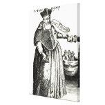 El obispo gordo impresiones de lienzo