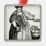 El obispo gordo ornamentos de navidad
