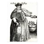 El obispo gordo tarjeta postal