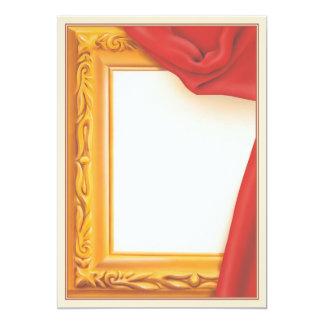 """El objeto del © de la belleza invitación 5"""" x 7"""""""