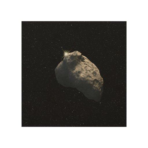 El objeto más pequeño de la correa de Kuiper Impresión En Madera