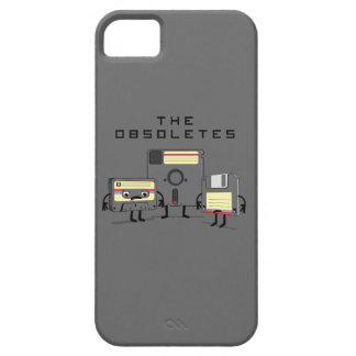 El Obsoletes cinta de casete del disco blando ret iPhone 5 Case-Mate Funda