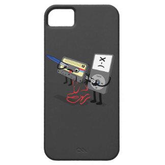 El Obsoletes cinta de casete del disco blando ret iPhone 5 Cárcasas