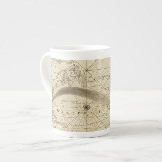 El Océano Atlántico Taza De Porcelana