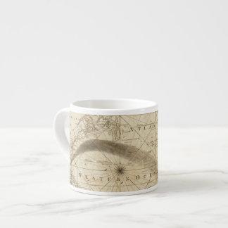 El Océano Atlántico Taza Espresso