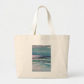 El océano del grillo - paisaje marino de la playa bolsa