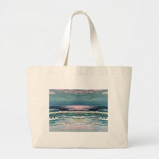 El océano del grillo - paisaje marino de la playa bolsas