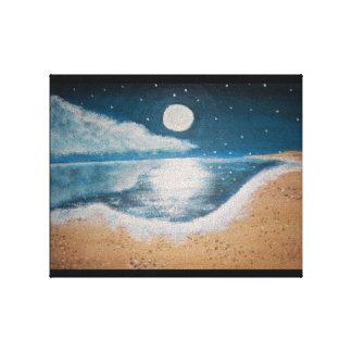 El océano impresión en lienzo