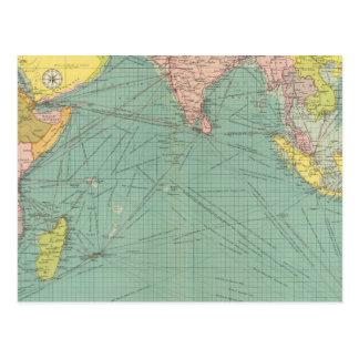 El Océano Índico 3 Postal