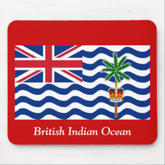 El Océano Índico británico Mouse Pads