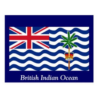 El Océano Índico británico Postal