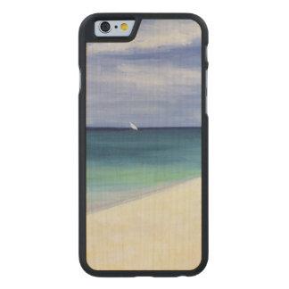 El Océano Índico II 1995 Funda De iPhone 6 Carved® De Arce
