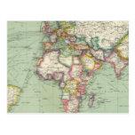 El Océano Índico, Océano Atlántico Postales
