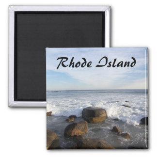 El océano oscila 1, Rhode Island Imán Cuadrado