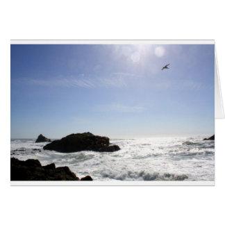 El océano tarjetas