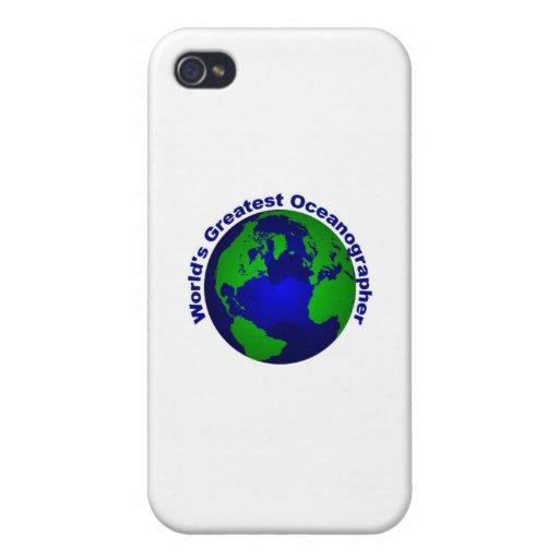 El oceanógrafo más grande del mundo iPhone 4 carcasas