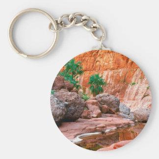 EL ocultado barranco Cajon Baja México del oasis Llavero Personalizado