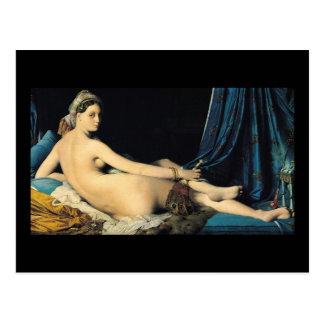 El Odalisque magnífico Jean 1814 Auguste Dominique Postal