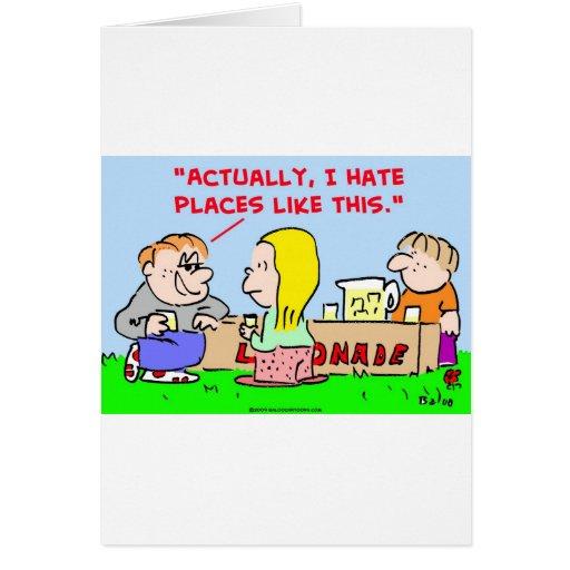 el odio de la limonada pone ligar de la datación felicitación