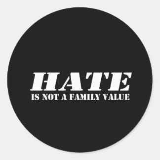 El odio no es pegatina para el parachoques del val