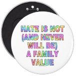 El odio no es (y nunca esté) pins